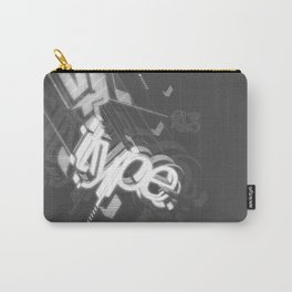 Stereo Type Carry-All Pouch