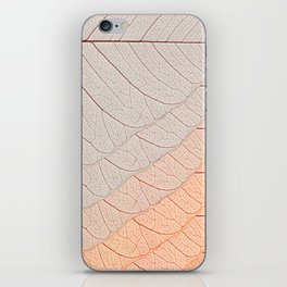 Leaves Brown iPhone Skin