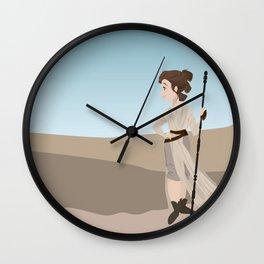 Queen of Jakku Wall Clock