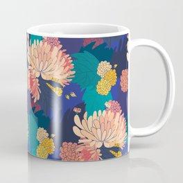 Chrysanthemums and Marigolds Coffee Mug