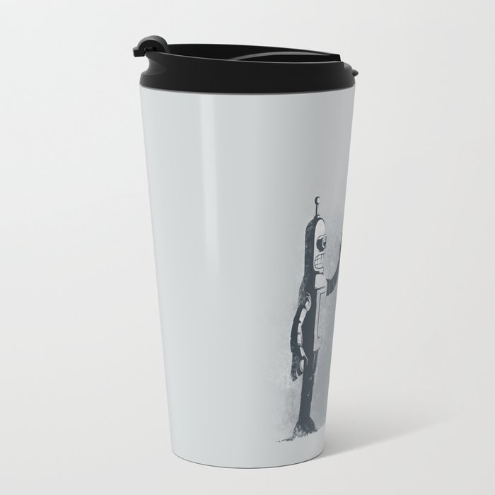 Binary Art Travel Mug