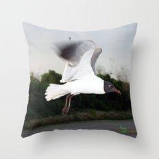 Flight... Throw Pillow