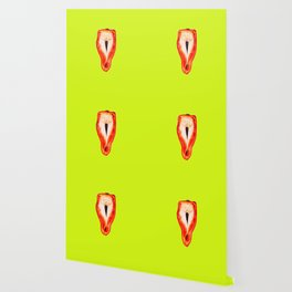 Yellow and red pepper Wallpaper