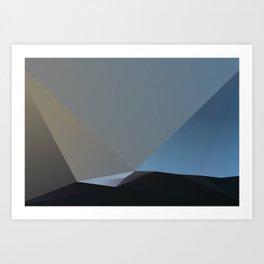 Every breaking wave Art Print
