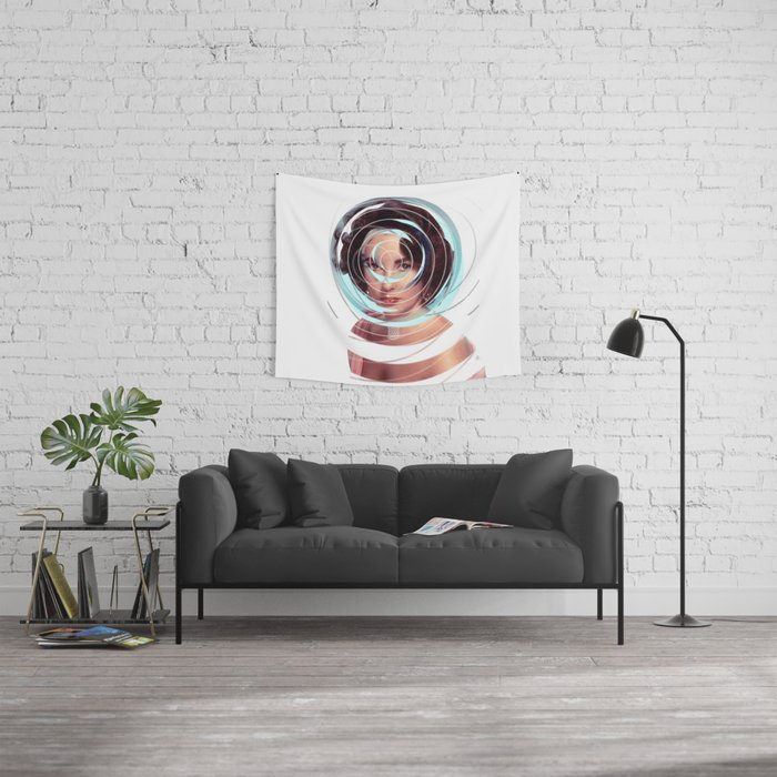 Heirate Mich Wall Tapestry