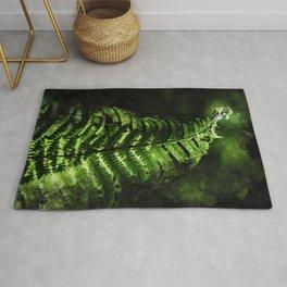 Fern #fern #botanical Rug
