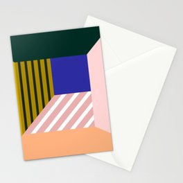 Abstract room b Stationery Cards