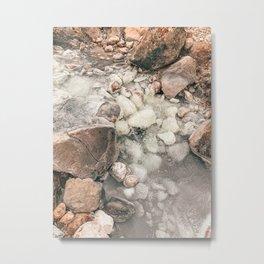 Boiling lake Metal Print