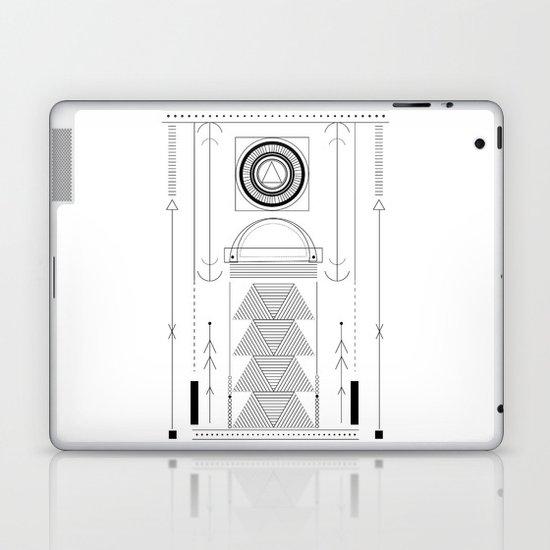 cirquit blank Laptop & iPad Skin