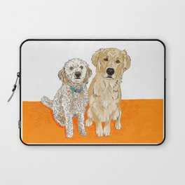 Two Buddies Laptop Sleeve