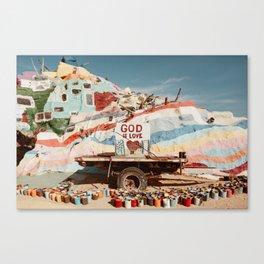 Slab City Canvas Print