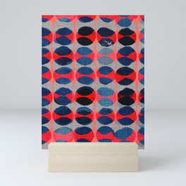 satori pattern Mini Art Print