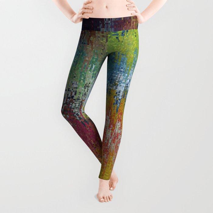 Abstract 192 Leggings
