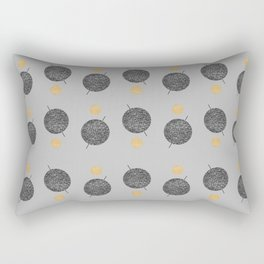 Saturn Abstract #society6 #decor #buyart Rectangular Pillow