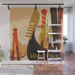 Venice Italy Vintage Travel Wall Mural