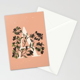 Letter A for Amelanchier Stationery Cards