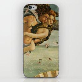 "Sandro Botticelli ""The Birth of Venus"" 3. Zephyr and his companion iPhone Skin"
