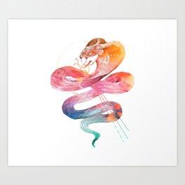 Spirit of the Cobra Art Print