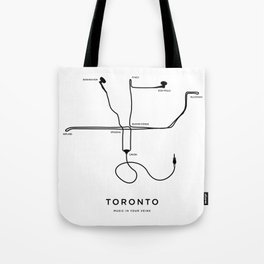 Music in your veins Tote Bag