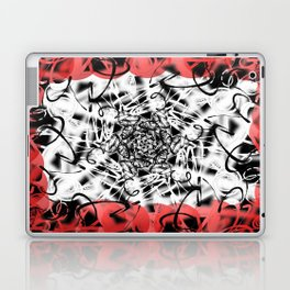 Blanco Khaotica v.2 Laptop & iPad Skin