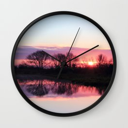 Sunrise Moment Wall Clock