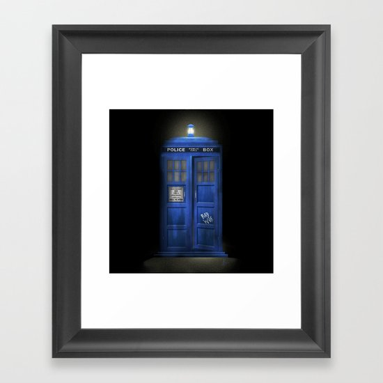 """Death – The Doctor's Truest Companion"" Framed Art Print"