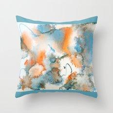 Colour Bursts-Part 1 Throw Pillow