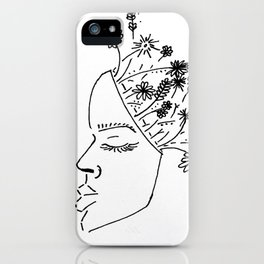 Keeping Spring In Mind iPhone Case
