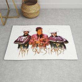 David S. Pumpkins - Any Questions? Rug