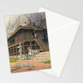 Kawase Hasui - Collection Of Scenic Views Of Japan, Eastern Japan Edition, Takkokunoiwaya, Hiraizumi Stationery Cards