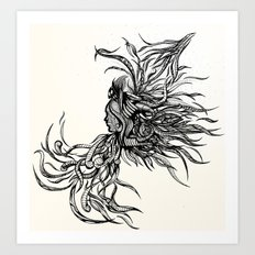 Untethered  Art Print