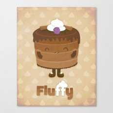 Fluffy Chocolate Mousse Cake Canvas Print