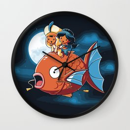 A special Crossover Wall Clock