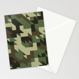 Military Pattern Stationery Cards