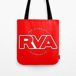 "Rva Logo - Red | "" The River City "" Tote Bag"