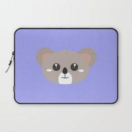 Cute friendly Koala head Laptop Sleeve