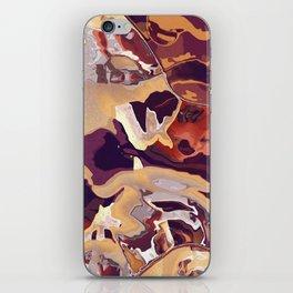 Liquid Beige iPhone Skin