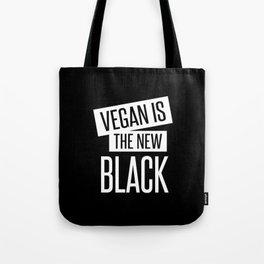 vegan is the new black. Tote Bag