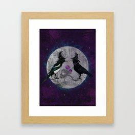 The Secret Gathering Framed Art Print