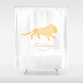 Leading - Oh my! Shower Curtain