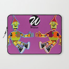 Tin Man with Converse Shoes Laptop Sleeve