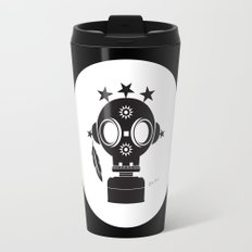 Post World Zuno : Gas Mask 02 Travel Mug
