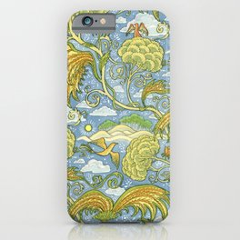 Tolkien Pattern - Plants iPhone Case