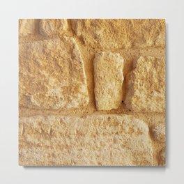 Ancient Minoan Stone Metal Print