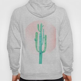 Desert Cactus Green with Rose Gold Sun Hoody