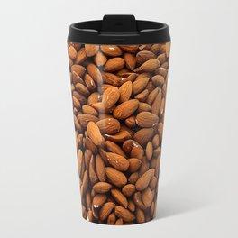 Almonds Nuts pattern Travel Mug