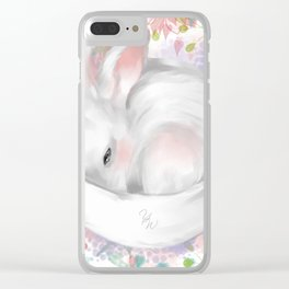 Bunny Clear iPhone Case
