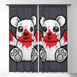 Polar Bear Cub First Kill Blackout Curtain