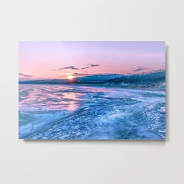 Baikal sunrise Metal Print
