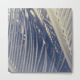 Macro Palm Modern Wall Art  Metal Print